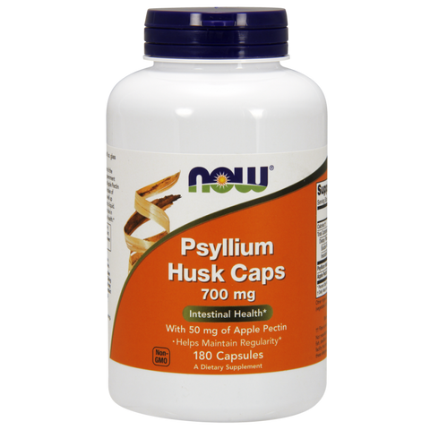 NOW Psyllium Husk plus Apple Pectin