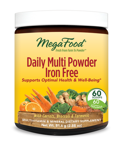 MegaFood Daily Multi Powder Iron Free