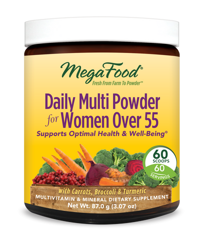MegaFood Daily Multi Powder for Women Over 55