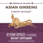 Natures Way Asian Ginseng Extract (Standardized)