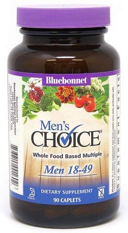 Bluebonnet Nutrition Men's Choice Whole Food Based Multiple (Men 18-49)