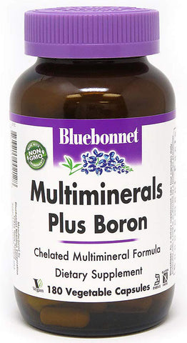 Bluebonnet Nutrition Multiminerals Plus Boron
