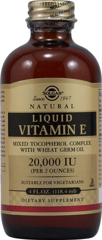 Solgar Natural Liquid Vitamin E