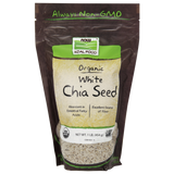 NOW Real Food Organic White Chia Seed