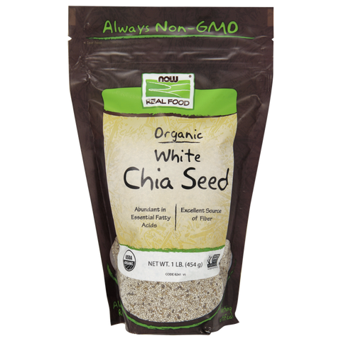 NOW Organic White Chia Seed