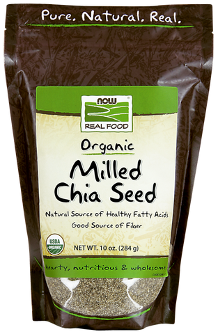 NOW Organic Milled Chia Seed