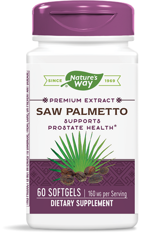 Natures Way Saw Palmetto Extract (Standardized)