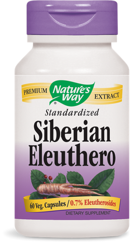 Nature's Way Siberian Eleuthero Extract (Standardized)