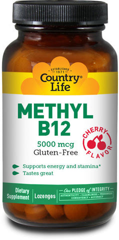 Country Life Methyl B12 (Cherry)