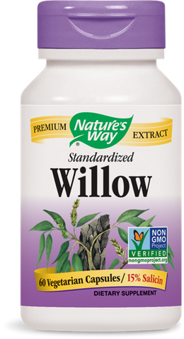 Nature's Way White Willow Bark Extract (Standardized)