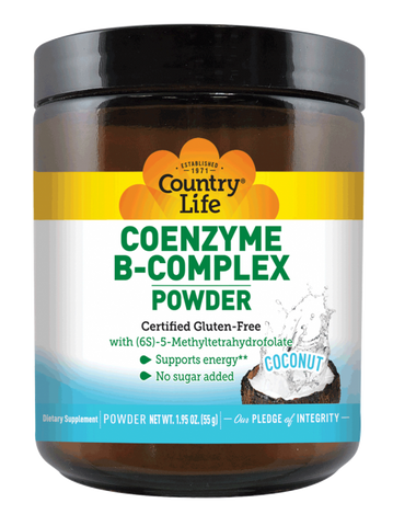Country Life Coenzyme B-Complex Powder - Coconut