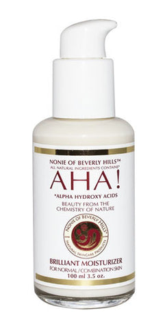 Nonie of Beverly Hills AHA! Brilliant Moisturizer