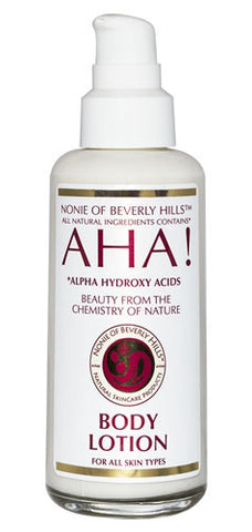 Nonie of Beverly Hills AHA! Body Lotion