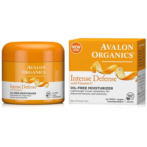 Avalon Organics Intense Defense with Vitamin C Oil-Free Moisturizer