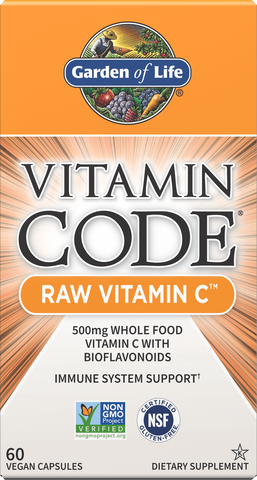 Garden of Life Vitamin Code Raw Vitamin C SALE