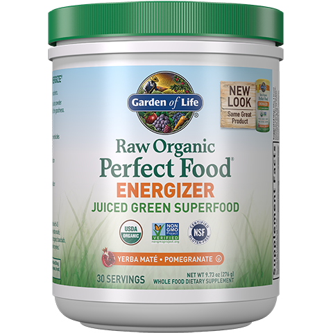 Garden of Life Raw Organic Perfect Food Energizer