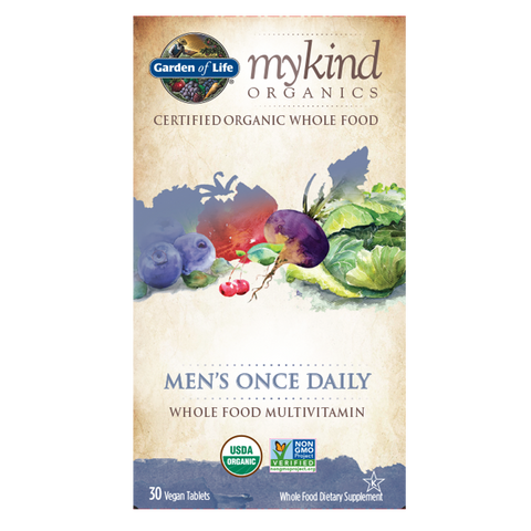 Garden of Life mykind Organics Men's Once Daily Multi