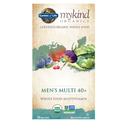 Garden of Life mykind Organics Men's Multi 40+