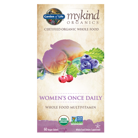 Garden of Life mykind Organics Women's Once Daily Multi