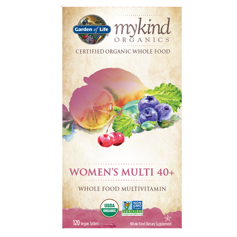 Garden of Life mykind Organics Womens Multi 40+