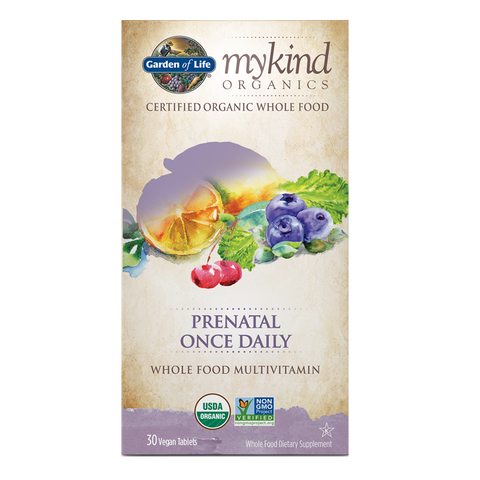 Garden of Life mykind Organics Prenatal Once Daily Multi