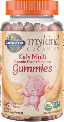 Garden of Life mykind Organics Kids Multi Fruit Gummies