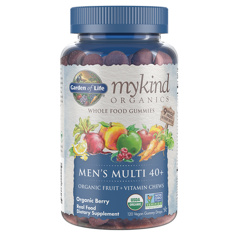 Garden of Life mykind Organics Men's 40+ Multi Gummies