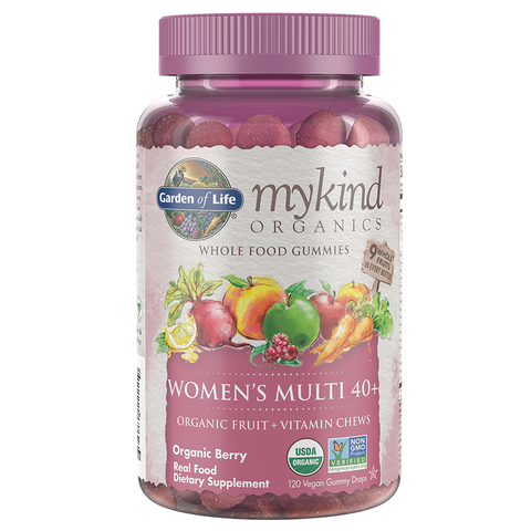 Garden of Life mykind Organics Women's 40+ Multi Gummies
