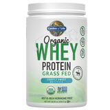 Garden of Life Organic Whey Protein (Grass Fed)