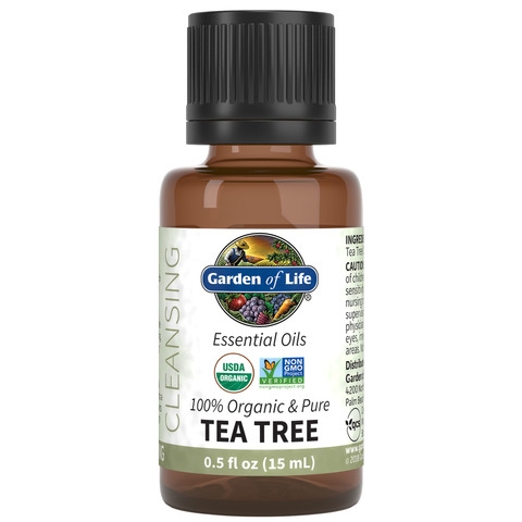Garden of Life Essential Oils Tea Tree
