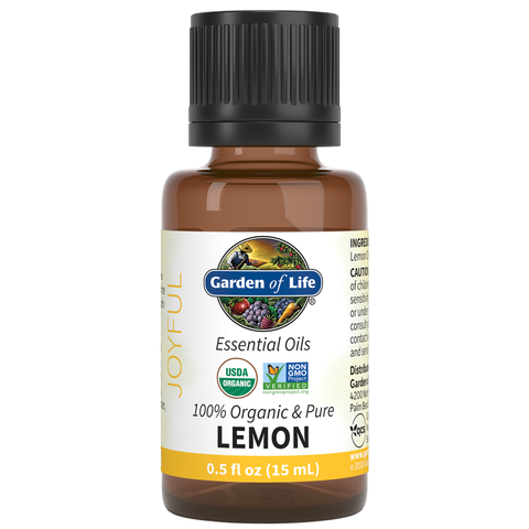 Garden of Life Essential Oils Lemon