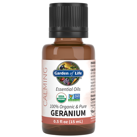 Garden of Life Essential Oils Geranium