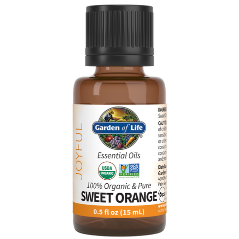 Garden of Life Essential Oils Sweet Orange