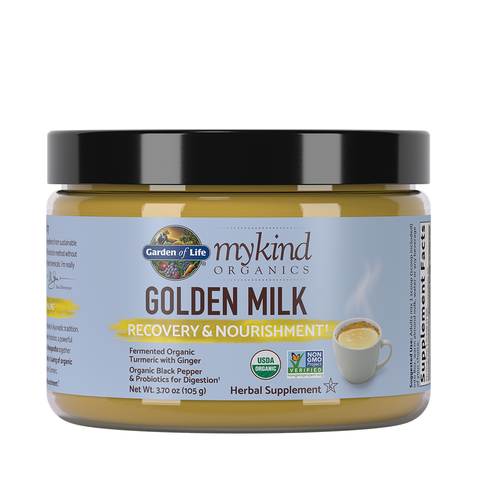 Garden of Life mykind Organics Golden Milk Powder
