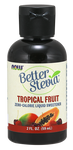 NOW BetterStevia Liquid Sweetener - Tropical Fruit