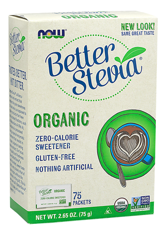 NOW BetterStevia Extract Packets (Organic)