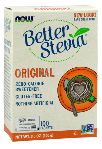 NOW BetterStevia Original Packets