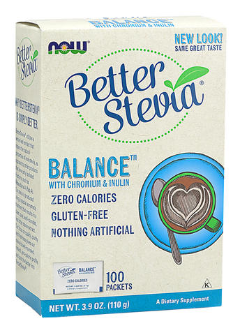 NOW BetterStevia Balance with Chromium  & Inulin