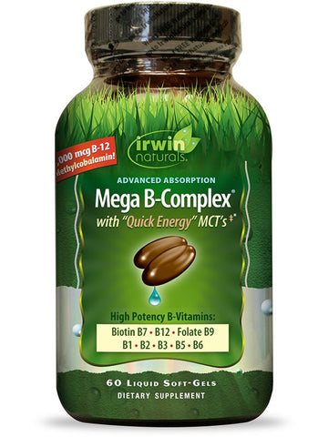 Irwin Naturals Advanced Absorption Mega B-Complex