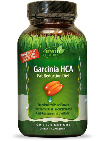 Irwin Naturals Garcinia HCA Fat Reduction Diet