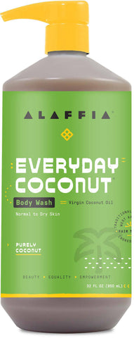 Alaffia Everyday Coconut Body Wash - Purely Coconut