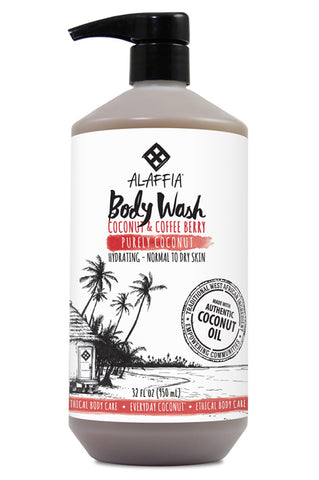 Alaffia Coconut Body Wash - Purely Coconut