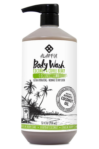 Alaffia Coconut Body Wash - Coconut Lime
