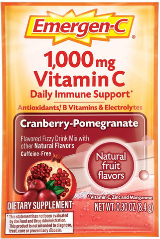 Emergen-C - Cranberry-Pomegranate