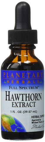 Planetary Herbals Hawthorn Extract (Full Spectrum)