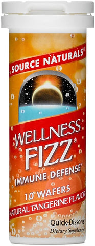 Source Naturals Wellness Fizz - Tangerine