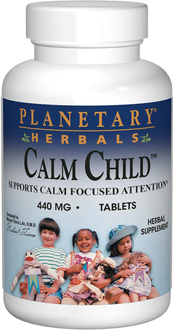 Planetary Herbals Calm Child 440 mg Trial Size