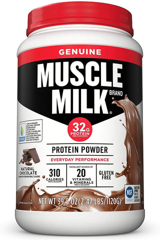 Muscle Milk Genuine Protein Powder (Natural)
