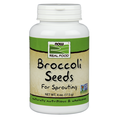 NOW Real Food Broccoli Seeds