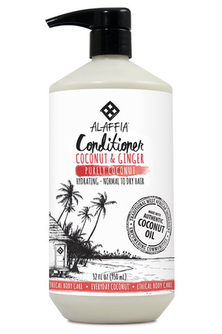 Alaffia Coconut Conditioner - Purely Coconut